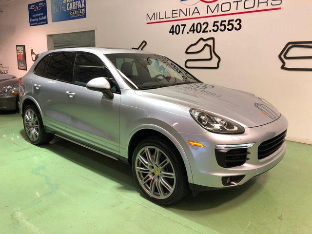 2017 Porsche Cayenne Platinum Edition Longwood, FL 2