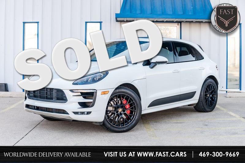 2017 Porsche Macan GTS NAV SUNROOF CARBON FIBER PDK TRANS LOADED NICE in Rowlett Texas