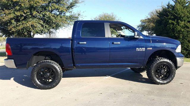 2017 Ram 1500 Big Horn LIFT/CUSTOM WHEELS AND TIRES in McKinney, Texas 75070