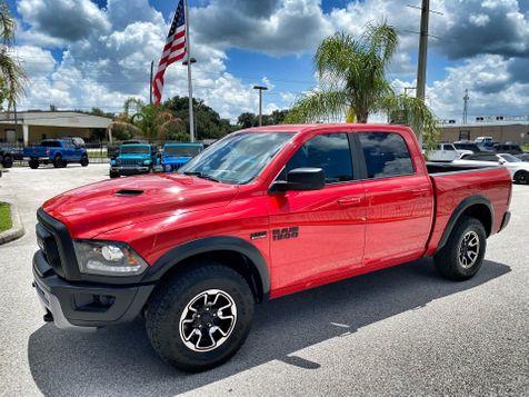 2017 Ram 1500 REBEL HEMI CREWCAB 4X4 V8 CARFAX CERT NAV  in Plant City, Florida