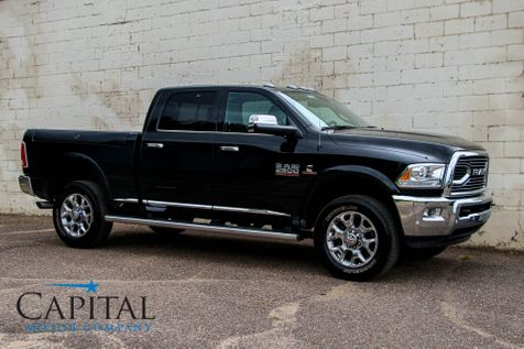 2017 Ram 2500 Laramie Limited Crew Cab 4x4 Cummins Diesel w/Navigation, Heated/Cooled Seats & Cargo Mgmt Box in Eau Claire