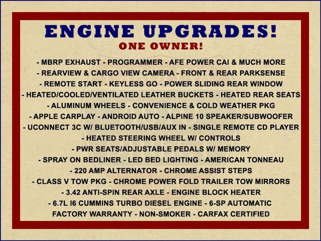 2017 Ram 2500 Laramie MEGA Cab 4x4 - ENGINE UPGRADES! Mooresville , NC 1