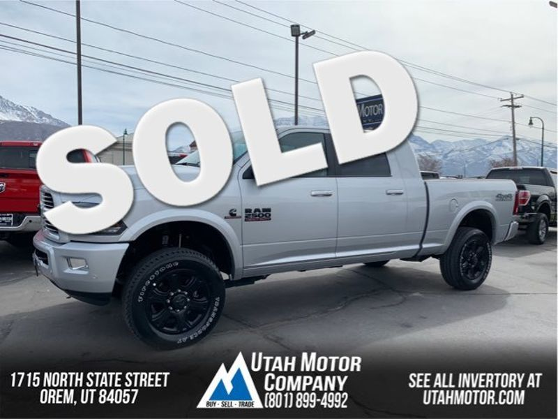 2017 Ram 2500 Laramie | Orem, Utah | Utah Motor Company in Orem Utah