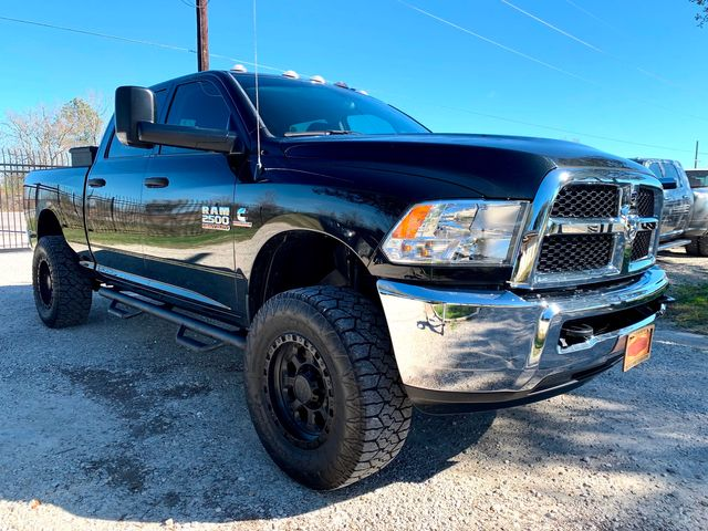 2017 Ram 2500 Tradesman Crew Cab 4X4 6.7L Cummins Diesel RARE 6 Speed Manual