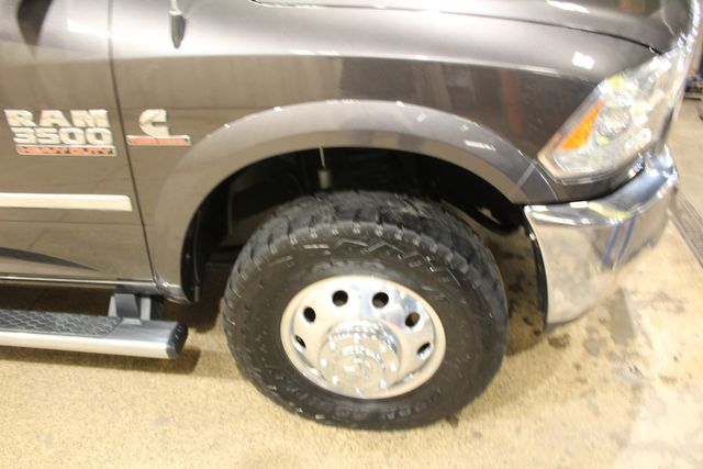 2017 Ram 3500 Chassis Cab 4x4 Diesel Flat Bed Laramie in Roscoe, IL 61073