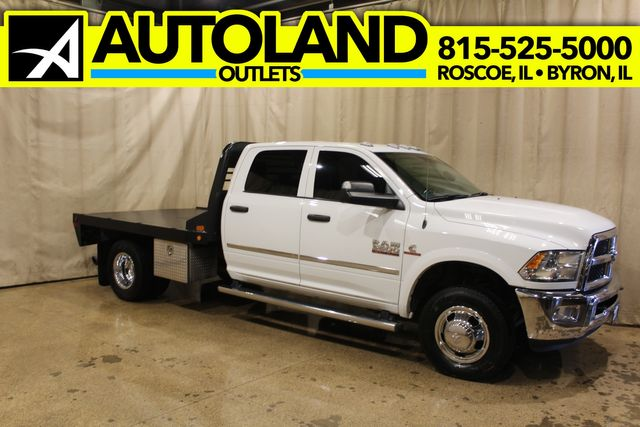 2017 Ram 3500 Chassis Cab Tradesman Flatbed 4x4 Diesel