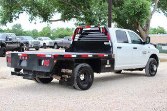 2017 Ram 3500 Tradesman Crew Cab 4x4 6.7L Cummins Diesel Aisin Auto Flatbed Sealy, Texas 11