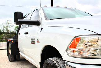 2017 Ram 3500 Tradesman Crew Cab 4x4 6.7L Cummins Diesel Aisin Auto Flatbed Sealy, Texas 2