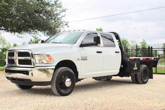 2017 Ram 3500 Tradesman Crew Cab 4x4 6.7L Cummins Diesel Aisin Auto Flatbed Sealy, Texas 5