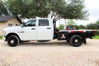 2017 Ram 3500 Tradesman Crew Cab 4x4 6.7L Cummins Diesel Aisin Auto Flatbed Sealy, Texas 6
