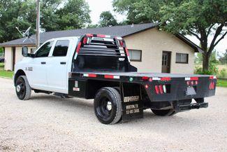 2017 Ram 3500 Tradesman Crew Cab 4x4 6.7L Cummins Diesel Aisin Auto Flatbed Sealy, Texas 7