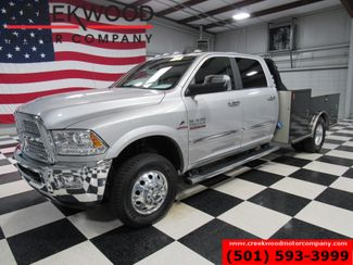 2017 Ram 3500 Dodge Laramie 4x4 Diesel Aisin Dually Utility Flatbed in Searcy, AR 72143