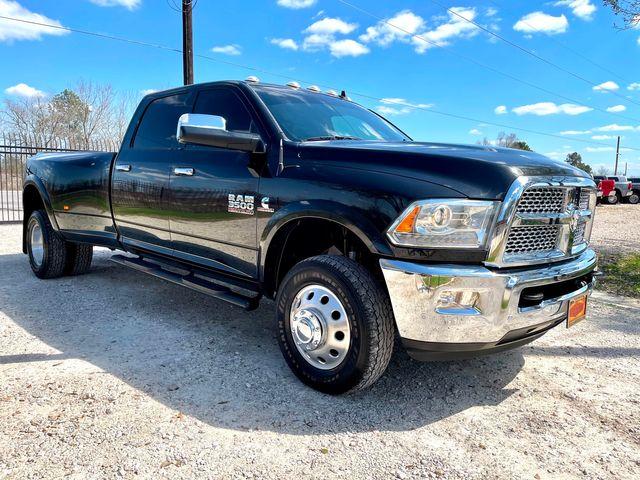 2017 Ram 3500 DRW Laramie Crew Cab 4X4 6.7L Cummins Diesel RARE 6 Speed Manual in Sealy, Texas 77474