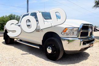 2017 Ram 3500 DRW Tradesman Crew Cab 4X4 6.7L Cummins Diesel AISIN Auto Sealy, Texas