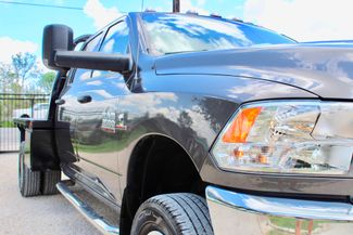 2017 Ram 3500 DRW Tradesman Crew Cab 4X4 6.7L Cummins Diesel Auto Flatbed Sealy, Texas 2