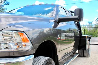 2017 Ram 3500 DRW Tradesman Crew Cab 4X4 6.7L Cummins Diesel Auto Flatbed Sealy, Texas 4