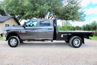 2017 Ram 3500 DRW Tradesman Crew Cab 4X4 6.7L Cummins Diesel Auto Flatbed Sealy, Texas 6