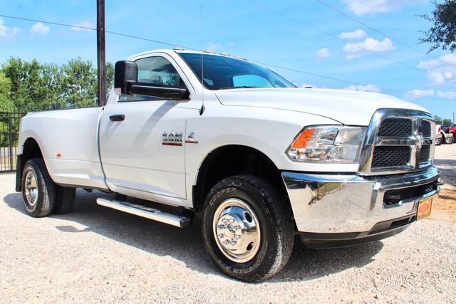 2017 Ram 3500 DRW Tradesman Single Cab 4X4 6.7L Cummins Diesel 6 Speed Manual