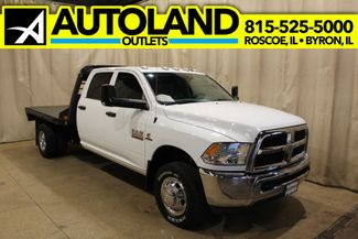 2017 Ram 3500 Flat bed long bed Tradesman in Roscoe, IL 61073