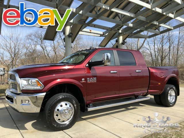 2017 Ram 3500 Laramie Mega 6.7l DIESEL 6SPEED MANUAL 75K MILES 1OWNER