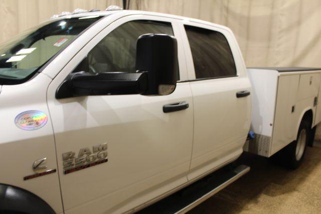 2017 Ram 5500 Utility 4x4 Diesel Crew Cab Tradesman in Roscoe, IL 61073