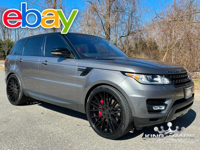2017 Range Rover Sport SUPERCHARGED RED INTERIOR WOW