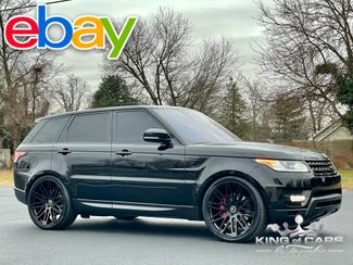 2017 Ranger Rover Sport DYNAMIC SUPERCHARGED 43K MILE LOADED RED GUT WOW in Woodbury, New Jersey 08093