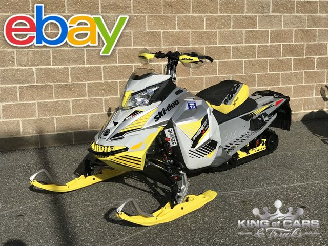 2017 Ski-Doo Mxz Xrs 800 420 MILES QUICK ADJUST SUSPENSION ULTRA RARE SNOW CHECK