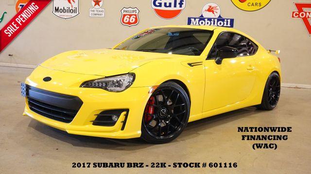 2017 Subaru BRZ Series.Yellow LOWERED,NAV,HTD LTH,EXHAUST,22K