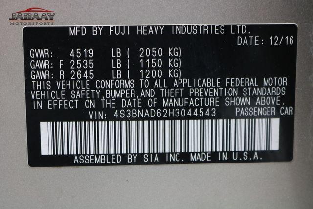 2017 Subaru Legacy Premium Merrillville, Indiana 47