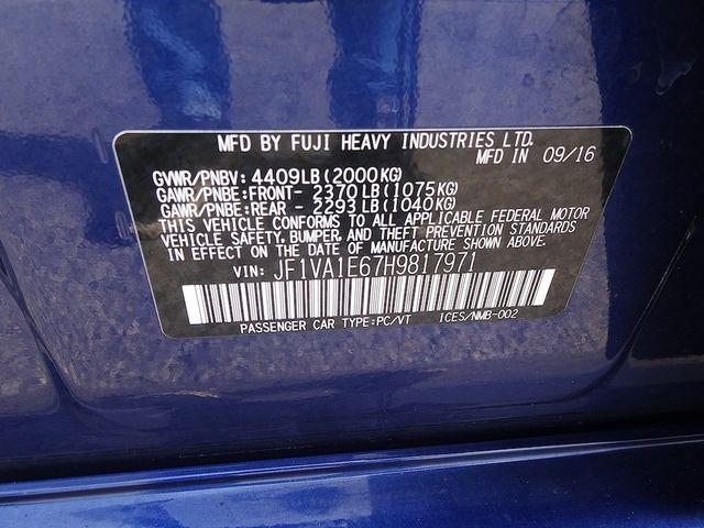 2017 Subaru WRX Premium Madison, NC 48