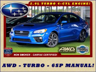 2017 Subaru WRX AWD - TURBO - 6SP MANUAL - ONE OWNER! Mooresville , NC