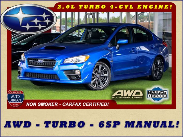 2017 Subaru WRX AWD - TURBO - 6SP MANUAL - ONE OWNER! Mooresville , NC 0