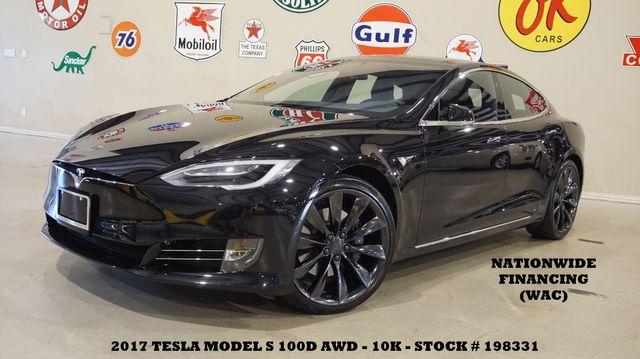 2017 Tesla Model S 100D MSRP 122K,PANO ROOF,NAV,HTD LTH,21'S,10K