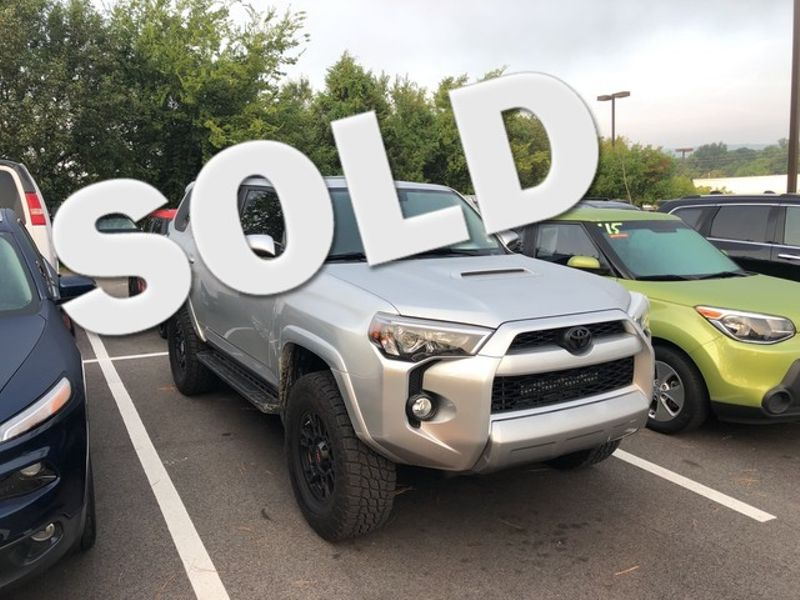 2017 Toyota 4runner Trd Off Road Premium Huntsville Alabama Landers Mclarty Dcj