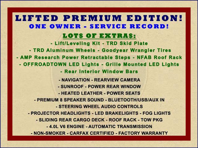 2017 Toyota 4Runner SR5 Premium 4x4 - LIFTED - EXTRA$ - NAV - SUNROOF! Mooresville , NC 1