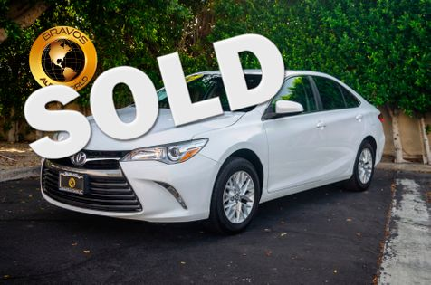 2017 Toyota Camry LE in cathedral city