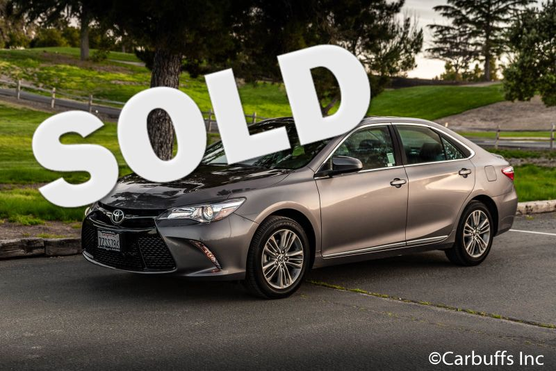 2017 Toyota Camry SE | Concord, CA | Carbuffs
