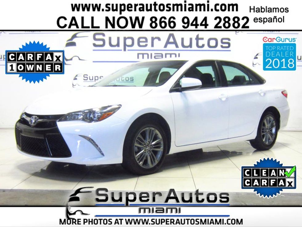 2017 Toyota Camry Se In D