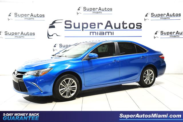 2017 Toyota Camry SE with Low Mileage