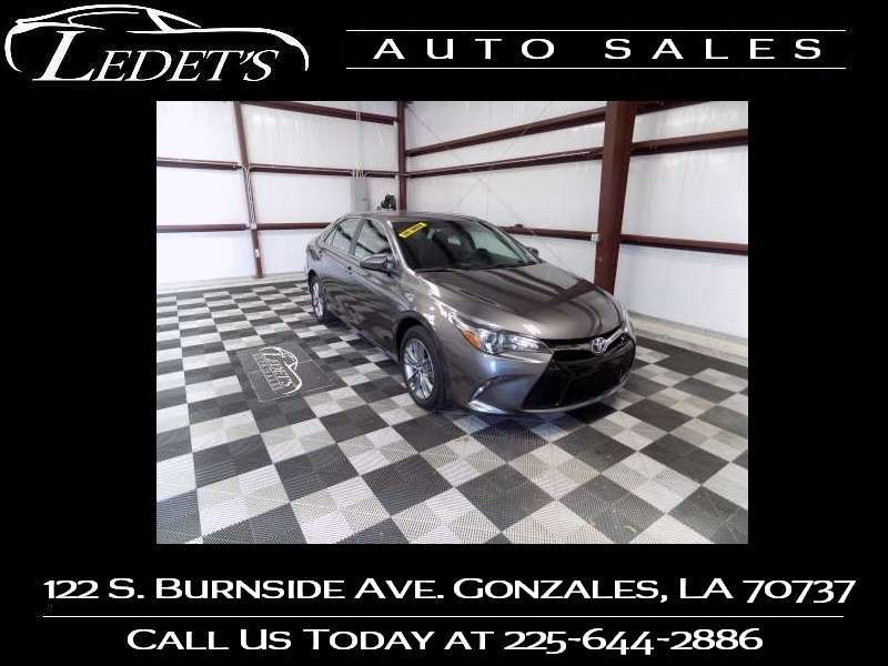 2017 Toyota Camry SE - Ledet's Auto Sales Gonzales_state_zip in Gonzales Louisiana