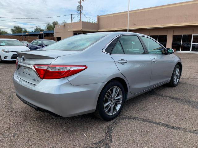 2017 Toyota Camry Hybrid SE 8 YEAR/100,000 MILE HYBRID BATTERY WARRANTY Mesa, Arizona 4
