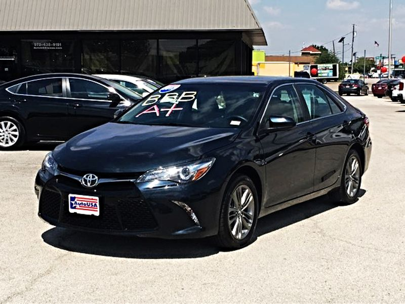 2017 Toyota Camry Se Black Irving Texas Auto Usa In
