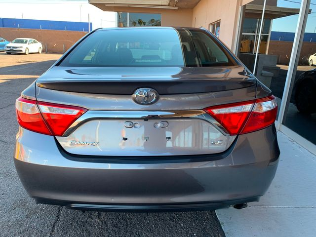 2017 Toyota Camry SE 5 YEAR/60,000 MILE FACTORY POWERTRAIN WARRANTY Mesa, Arizona 3