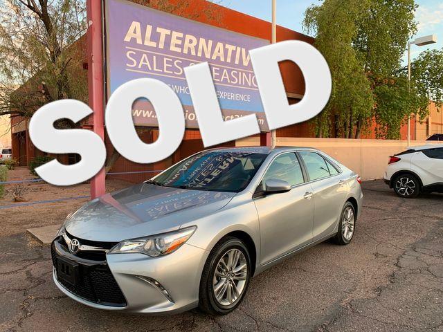 2017 Toyota Camry SE 5 YEAR/60,000 FACTORY POWERTRAIN WARRANTY Mesa, Arizona