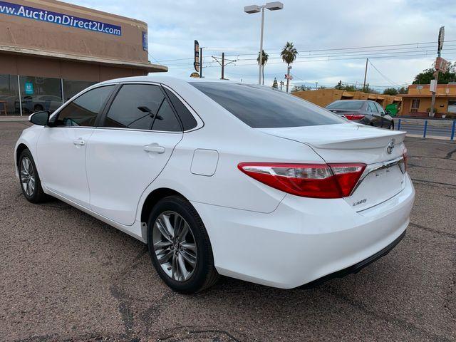 2017 Toyota Camry SE 5 YEAR/60,000 MILE FACTORY POWERTRAIN WARRANTY Mesa, Arizona 2