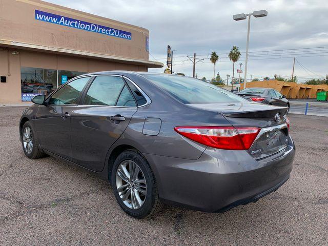 2017 Toyota Camry SE 5 YEAR/60,000 MILE NATIONAL POWERTRAIN WARRANTY Mesa, Arizona 2