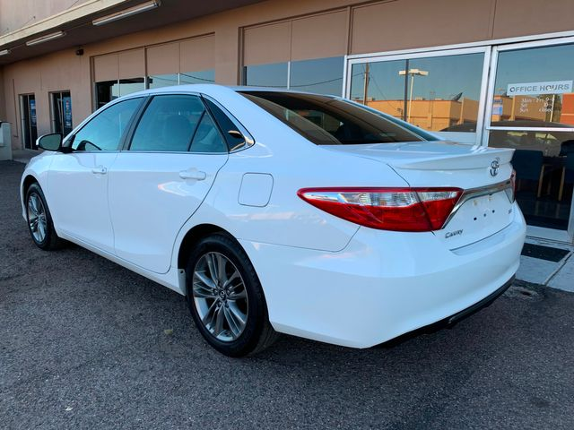 2017 Toyota Camry SE 5 YEAR/60,000 MILE FACTORY POWERTRAIN WARRANTY Mesa, Arizona 2