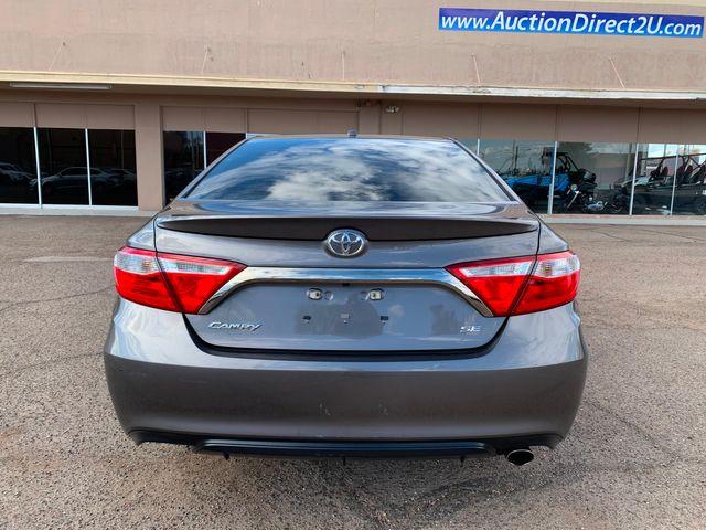 2017 Toyota Camry SE 5 YEAR/60,000 MILE FACTORY POWERTRAIN WARRANTY Mesa, Arizona 3