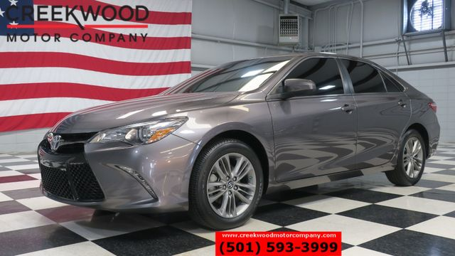 2017 Toyota Camry SE Gray New Tires Leather Low Miles 33mpg CLEAN